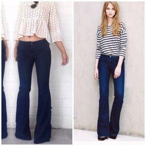 Joie Trouser Flare Jeans Dark Wash Tasmania 28